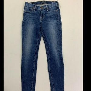 Lucky Brand Women's Blue Brooke Legging Jeans